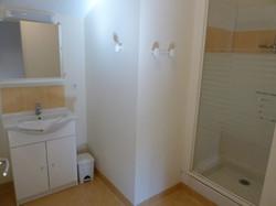 salle de douche gite