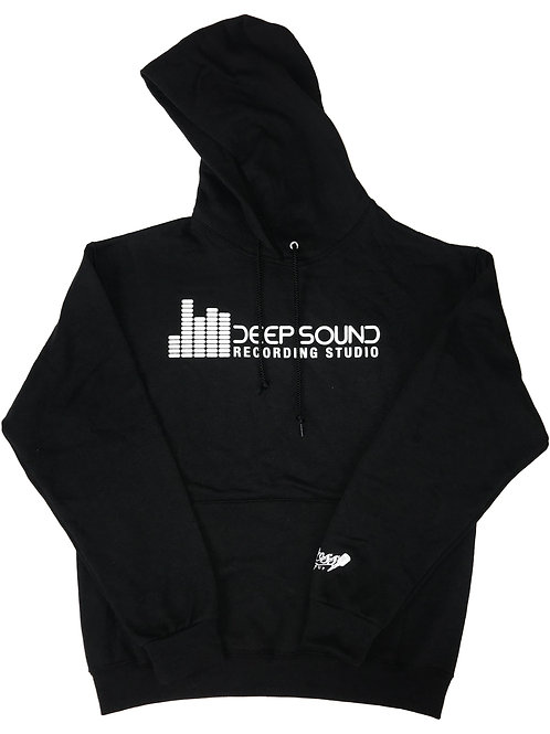 """Deep Sound Studios"" Hooded Sweatshirt"