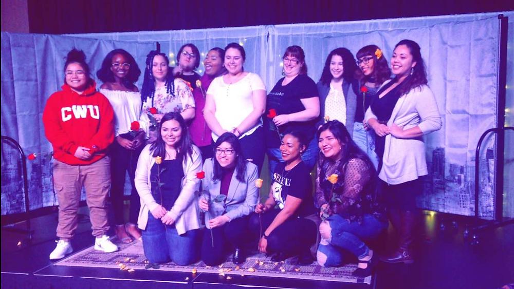 Feminine Performers in honor of  International Women's Day