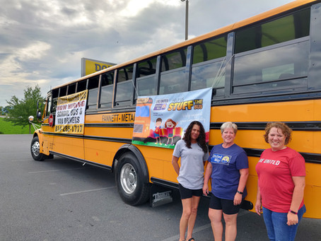 Community Collects over $20,000 in School Supplies for Students at 5 Local Districts
