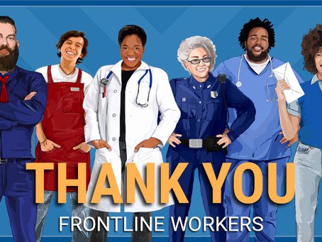 8 Ways to Thank Frontline Workers