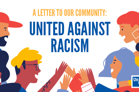United Against Racism: A Letter to Our Community