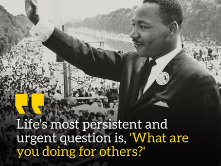 Honoring Dr. King by Serving Others