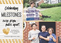 Celebrating Milestones - Photo Card