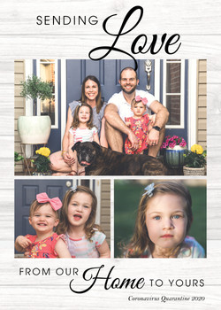 Sending Love from Home - Photo Card