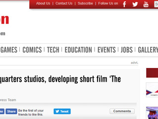 My Short Film - 'The Kite' in the NEWS