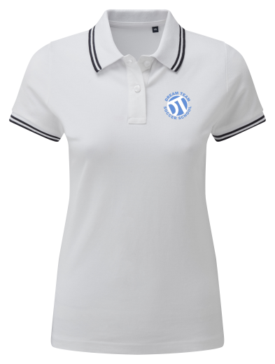 DTS Women's Classic Fit Tipped Polo