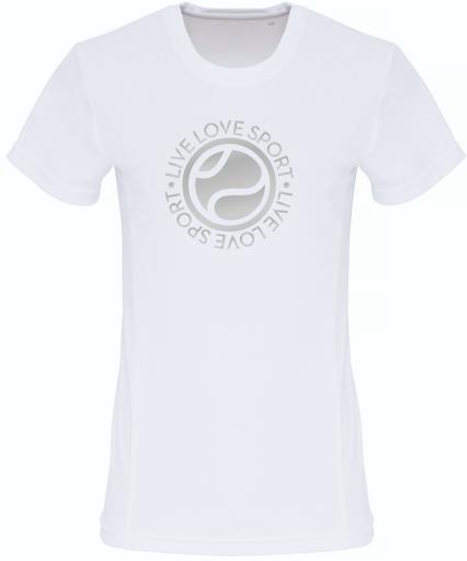 LLS Women's Tri-Dri Embossed Panel T Shirt