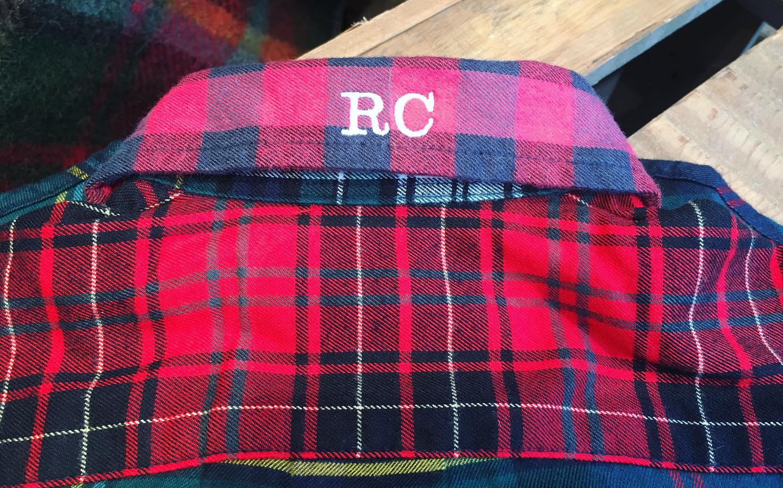 ralph lauren back of collar embroidery.J