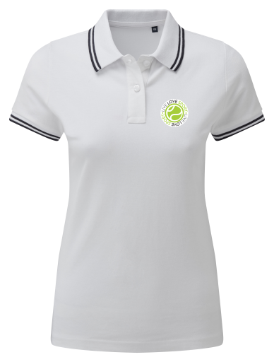 LLS Women's Classic Fit Tipped Polo