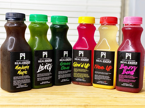 Real Juice Cleanse (1 Day)