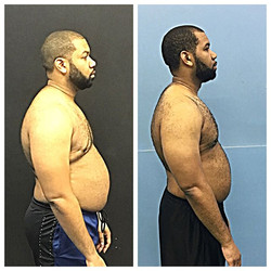 O to _bigtristin on his weight loss! Still have some work to do, but you're definitely on the right