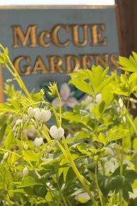 McCue Gardens Sign