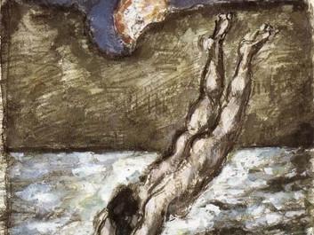 L'eau laiteuse de Cézanne à la lecture de Bachelard