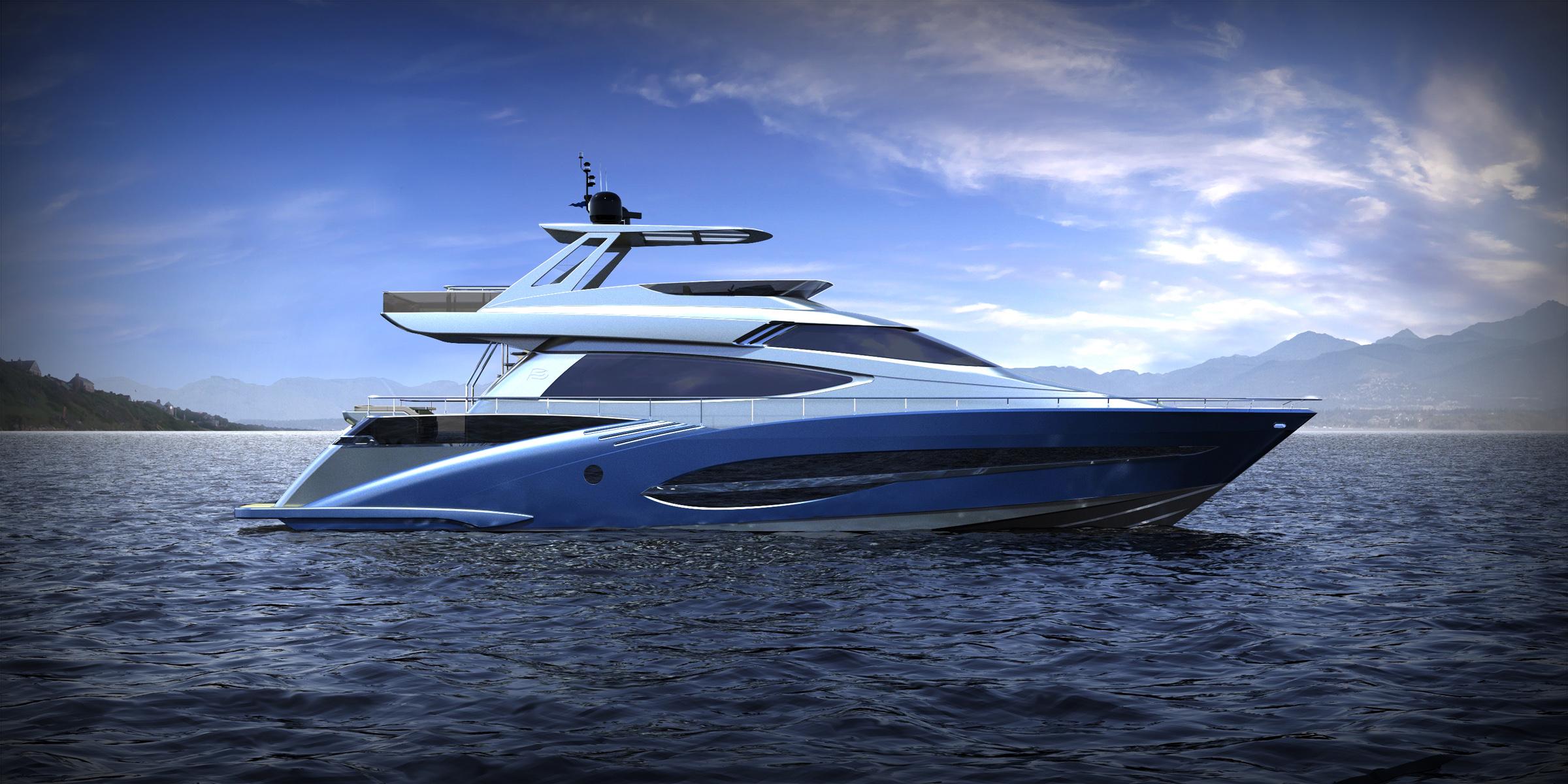 Joachim Kinder 73' Yacht