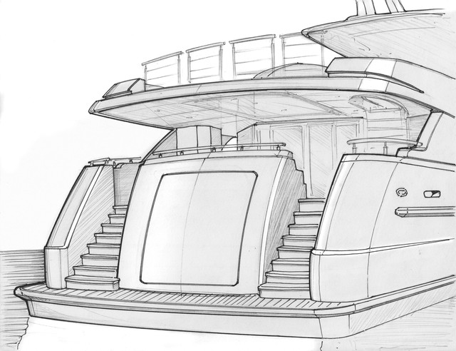 Westport 38m Detailing Sketch