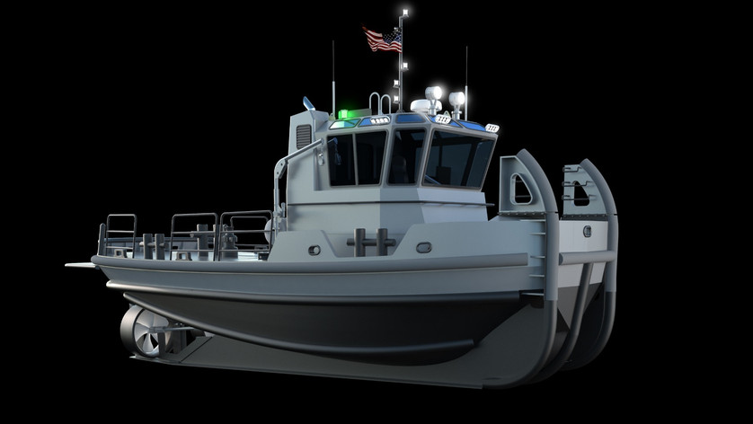 Workboat LG concept