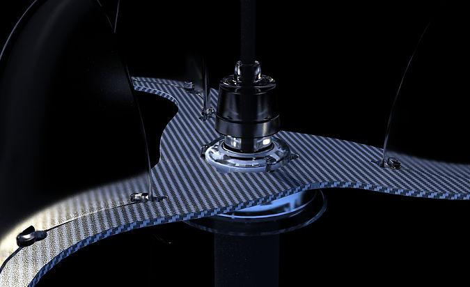 Barani Design Anemometer 3d Rendering