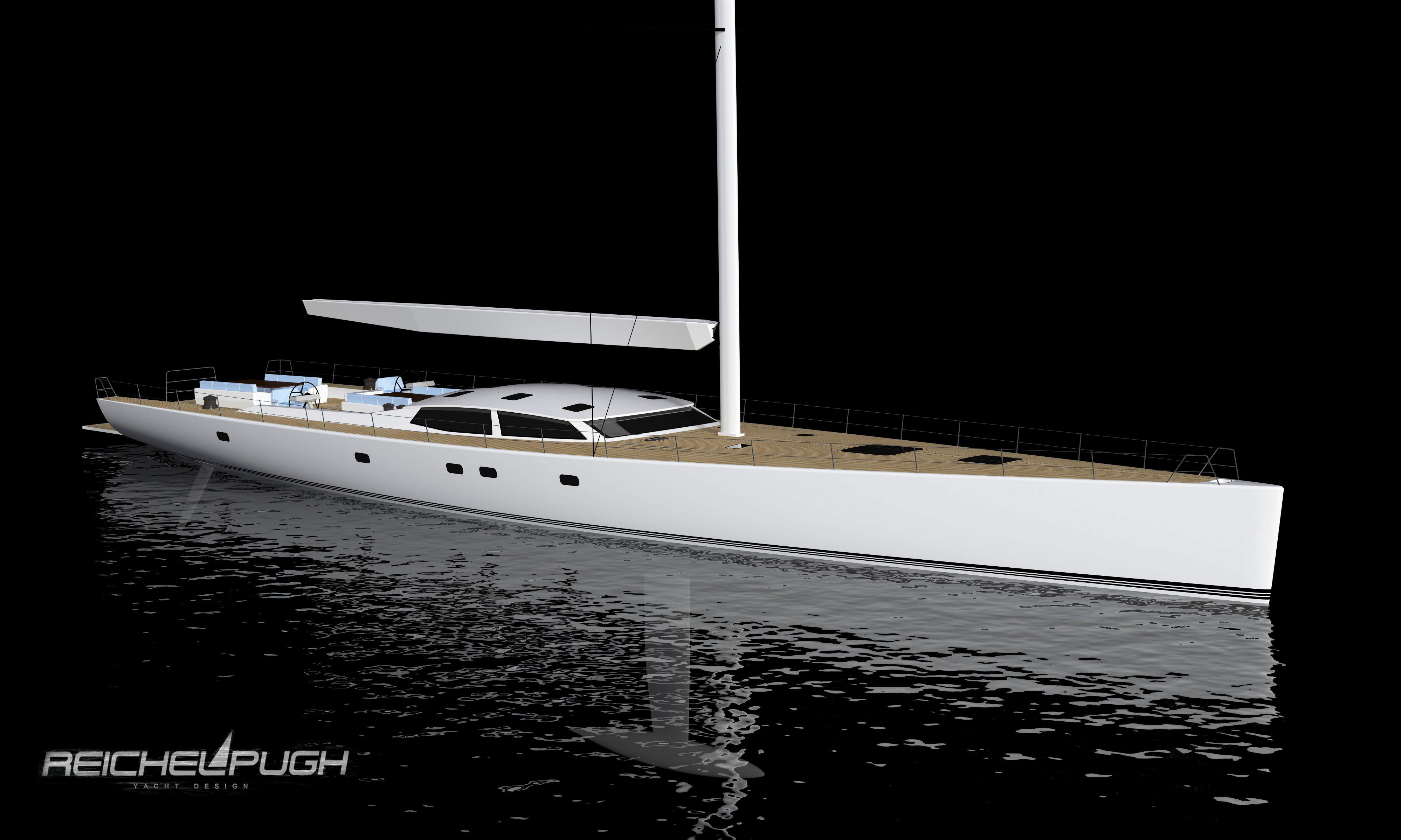 Reichel Pugh 125' Concept