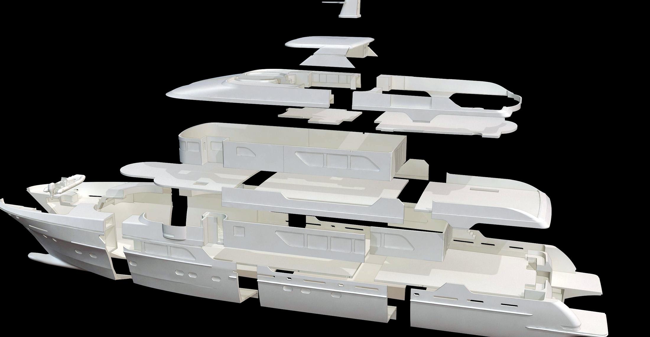 Christensen Yachts 3d Print Model