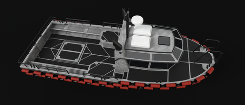 CMI 35' - 3D design
