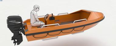 16' Crew Rescue Boat Conceptual Design