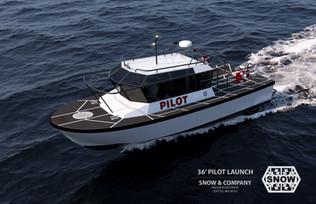 36 Pilot Launch underway