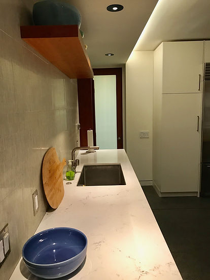 Recessed Lighting in Kitchen