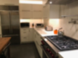Kitchen Countertop Lighting Installation