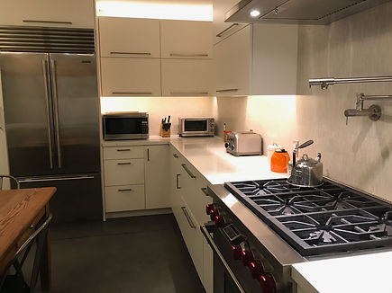 Kitchen Countertop Lighting Installation