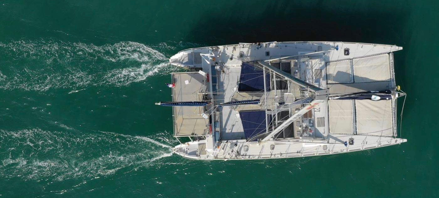 CATAMARAN ALUMINIUM EXPLORATION CHARTER