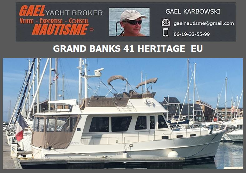 GRAND BANKS 41 HERITAGE EU A VENDRE