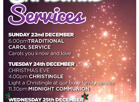 Christmas Services 2019