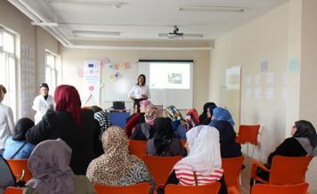 Esogü'den Mülteci Kadınlara Kadın Hakları Semineri