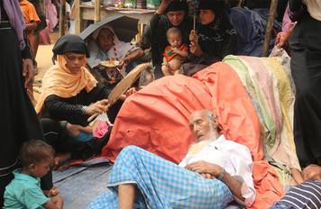 Turkey sends food aid to Rohingya refugees