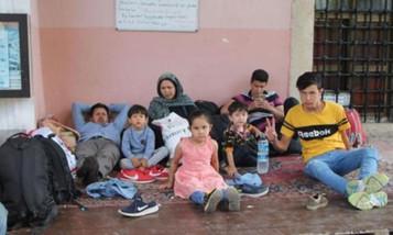 Amasya'da 120 Afgan mülteci camiye sığındı