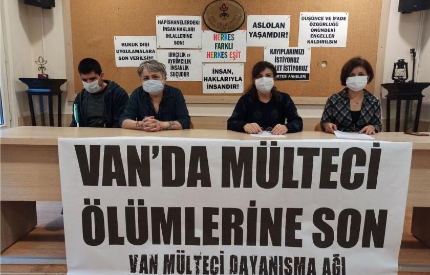 Mülteci Dayanışma Ağı Van raporunu açıkladı