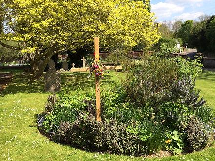 Our Easter Garden