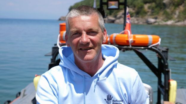 Rathlin Island ferry skipper Michael Cecil swaps Rathlin Sound for the Mediterranean in a bid to rescue refugees