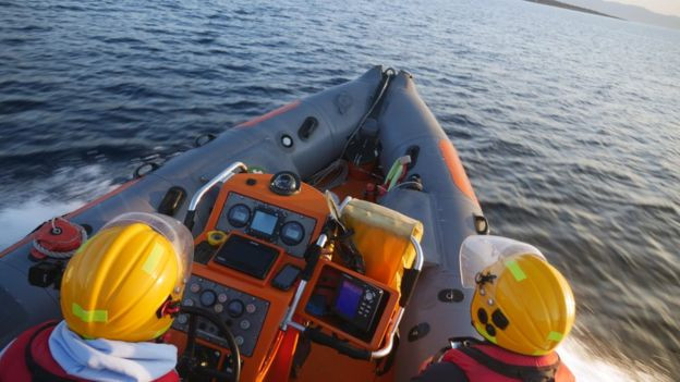 An anonymous donor bought a speed boat to help with rescue efforts
