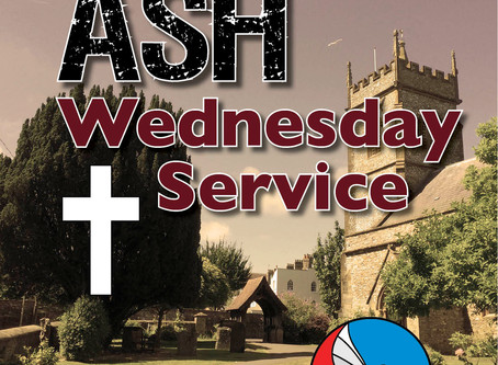 Begin the season of Lent with us