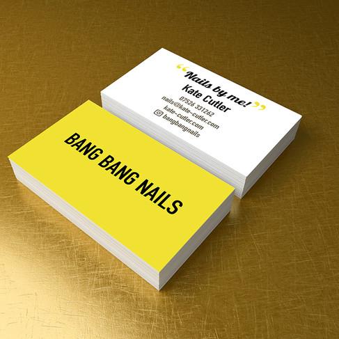 Bang Bang Nails Business Card