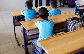 Mülteci çocukların okullarda adı yok