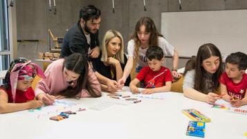Üniversite öğrencilerinden mülteci çocuklar için 'Çocuk Gibi Bak' projesi