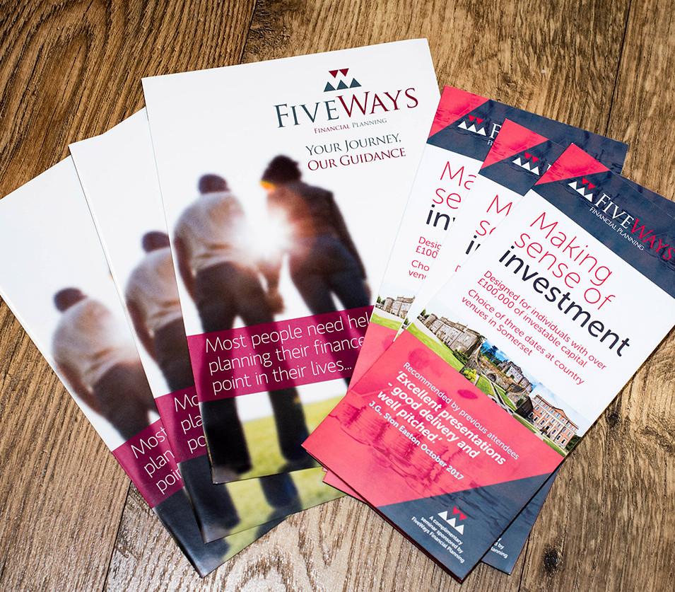 Fiveways Financial Planning Leaflets