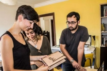 Duygu, Azra and Yashar have been developing their business plan to assist talented, but struggling, artisans bring their handicrafts to the commercial market trough Joon, their start-up company