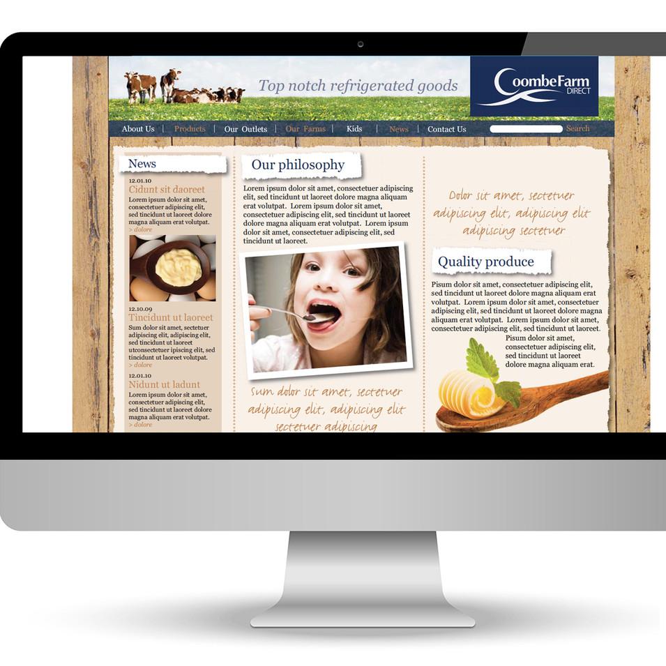 Coombe Farm Website