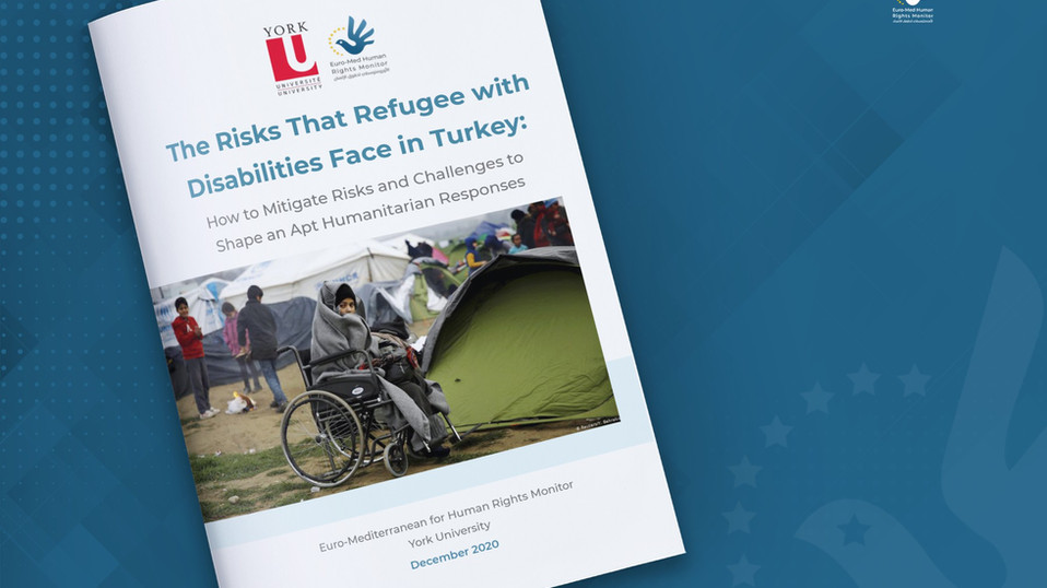 """The Risks That Refugees with Disabilities Face in Turkey"""