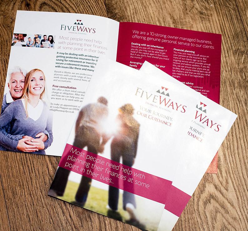 Fiveways Financial Planning Brochures