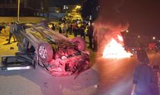 Ankara Altındağ'da Suriyeli mültecilerin ev ve dükkanlarına saldırı